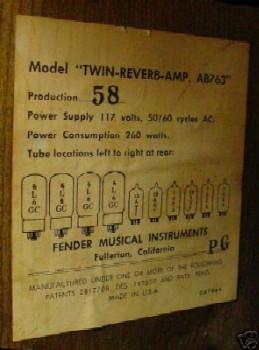 fender amp serial number guide