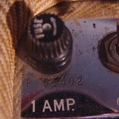 Orange amp serial number dating
