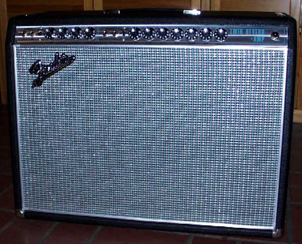 1968 1982 Quot Silver Face Quot Twin Reverb